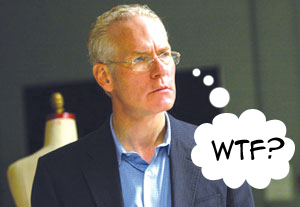 Tim Gunn Doesn't Know What Is Going On
